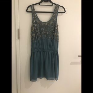 Really special trendy beaded joie dress
